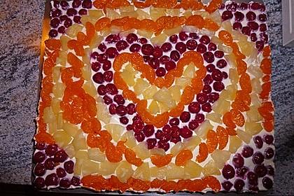 Frischkäse - Obstkuchen 5