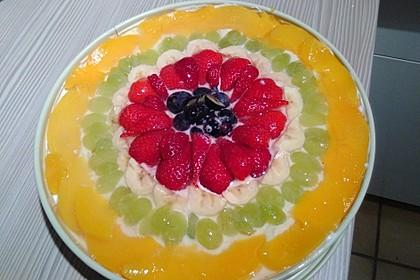 Frischkäse - Obstkuchen 17