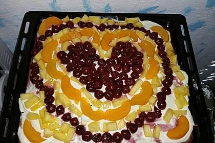 Frischkäse - Obstkuchen 6
