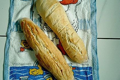 Baguette - Teig aus dem BBA 24