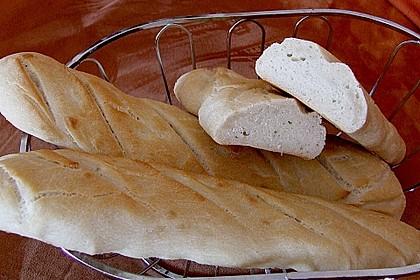 Baguette - Teig aus dem BBA 21