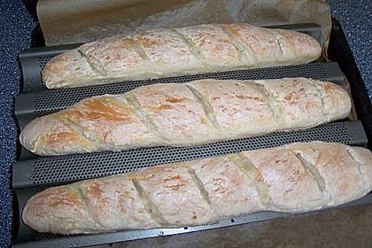 Baguette - Teig aus dem BBA 18