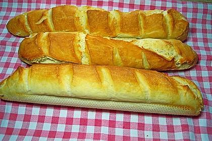 Baguette - Teig aus dem BBA 9