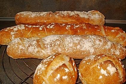 Baguette - Teig aus dem BBA 1