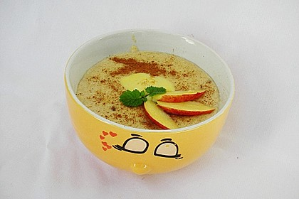 Dinkelgrieß - Apfel - Brei 1