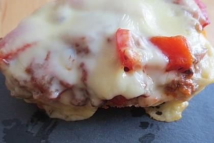 Pizza - Hackfleisch - Brötchen 8