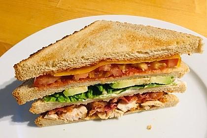New York Club Sandwich (Bild)