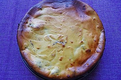 Mohn - Käsekuchen mit Kirschen 33