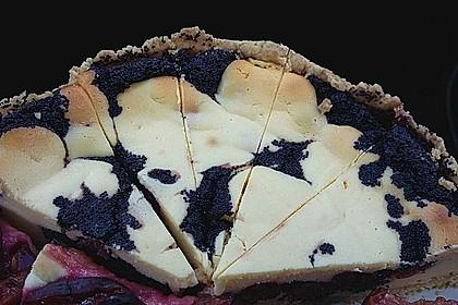 Mohn - Käsekuchen mit Kirschen 47
