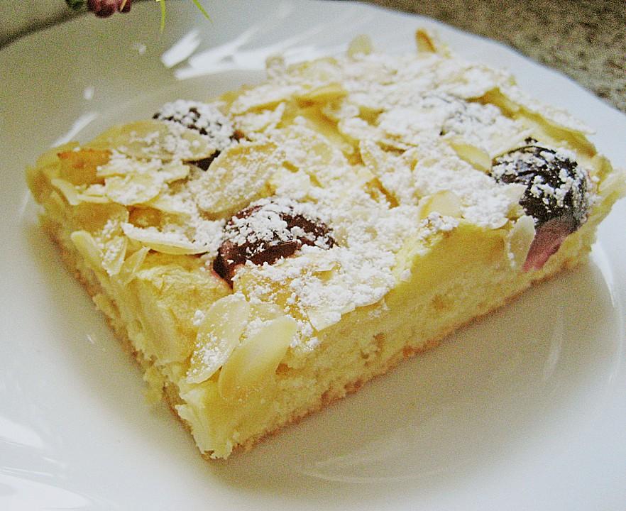 Apfel Kirsch Blechkuchen Nach Oma Barbel Von Schwalbe Chefkoch De