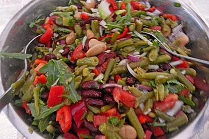 Bunter Bohnensalat 1