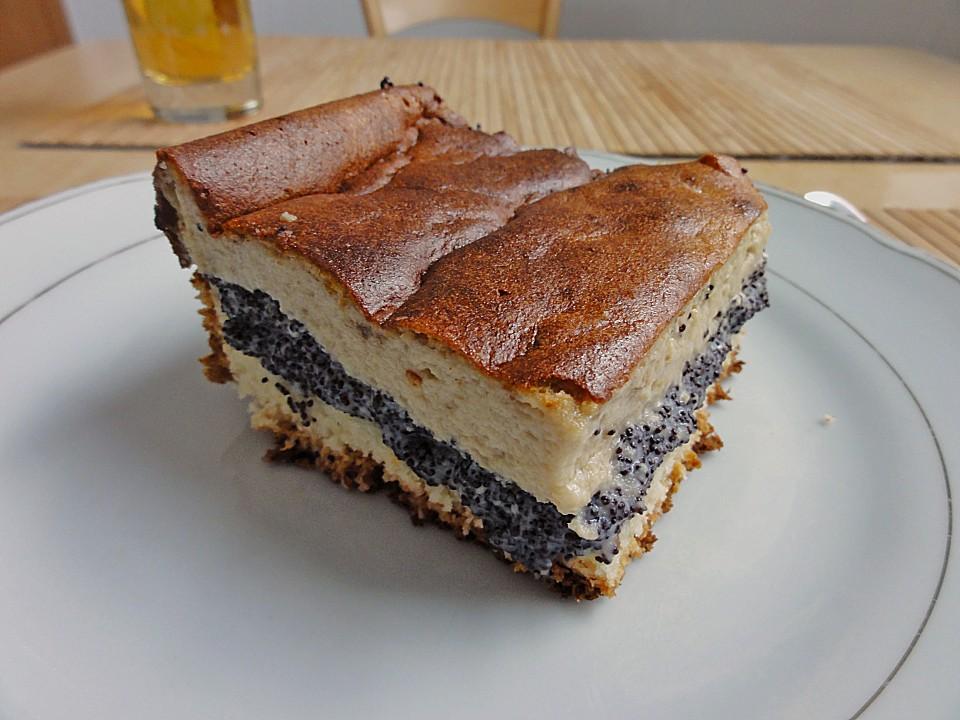 Kase Mohn Kuchen Von Krikri Chefkoch De