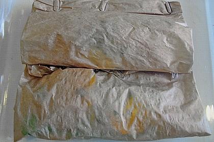 Kräuterdoraden in Pergament 4