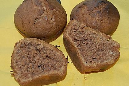 Schokoladen - Nuss - Muffins (Bild)