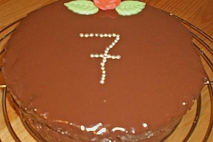 Frosting / Glasur mit Schokolade und Sahne 23