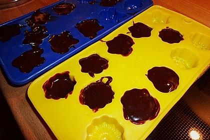 Frosting / Glasur mit Schokolade und Sahne 25