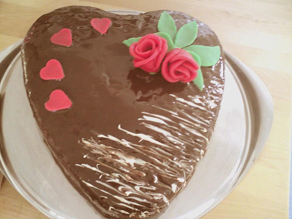 Frosting Glasur Mit Schokolade Und Sahne Von Lindaleing Chefkoch De