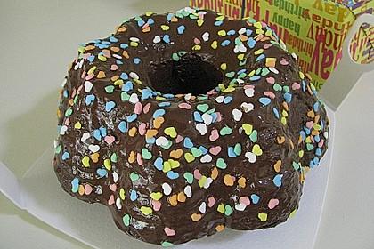 Frosting / Glasur mit Schokolade und Sahne 11