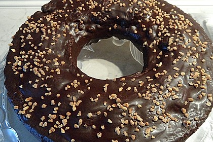 Frosting / Glasur mit Schokolade und Sahne 3