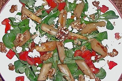 Feldsalat mit gebratenem Spargel 5