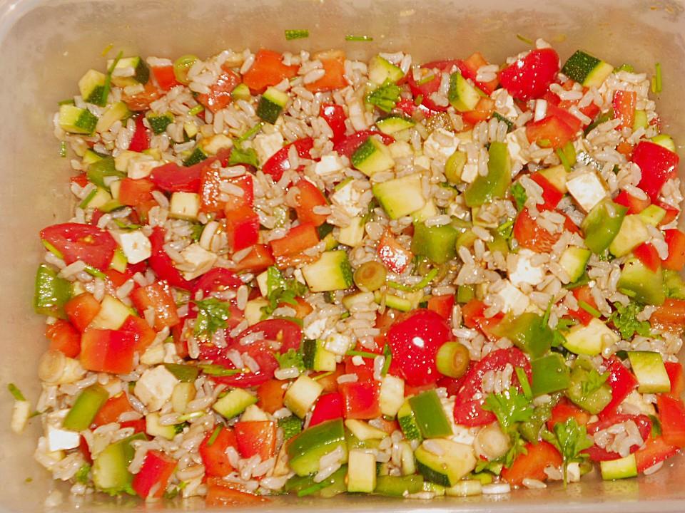 Rezepte Leichte Sommerküche Kalorienarm : Sommerlich leichter reissalat von calorine chefkoch