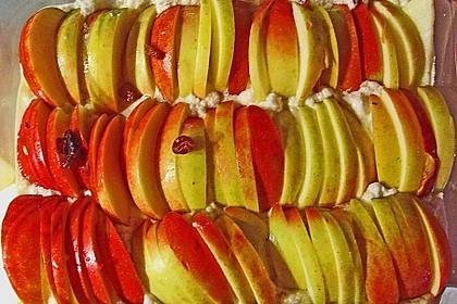 Apfelauflauf mit Bulgur 1