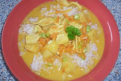 Annas fruchtiges Hühnercurry Thai - Art 9