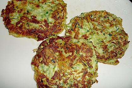 Zucchinipuffer 5
