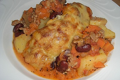 Chili con Carne - Auflauf 8
