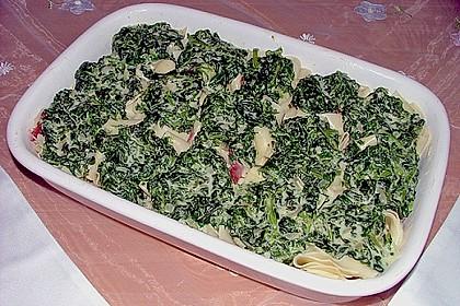 Spinat-Käse-Auflauf 6