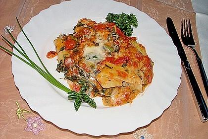 Spinat-Käse-Auflauf 2