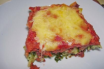 Spinat-Käse-Auflauf 1