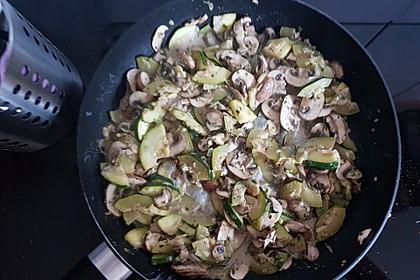 Zucchini - Champignon - Pfanne 21