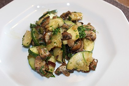 Zucchini - Champignon - Pfanne (Bild)