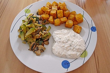 Zucchini - Champignon - Pfanne 19