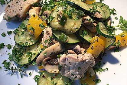 Zucchini - Champignon - Pfanne 24