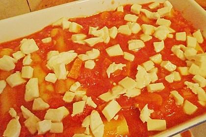 Cannelloni mit Karotten und Ricotta gefüllt 4