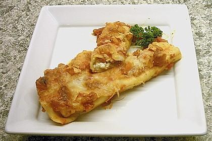 Cannelloni mit Karotten und Ricotta gefüllt 2