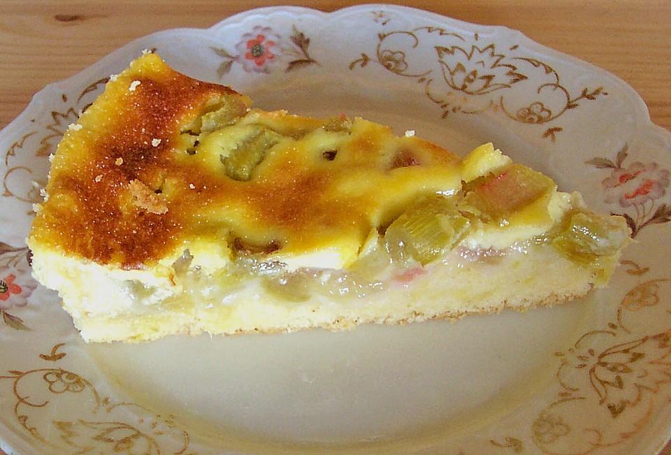 Rhabarber kuchen rezept chefkoch