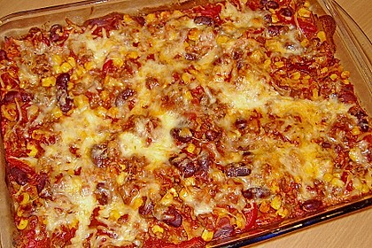 Lasagne - Mexican Style 2