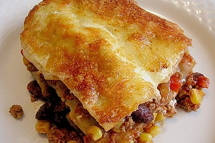 Lasagne - Mexican Style 1