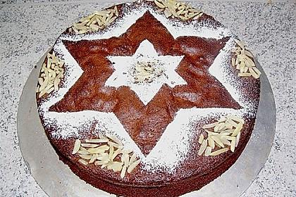 Gâteau au chocolat et aux amandes 6