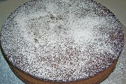 Gâteau au chocolat et aux amandes 5