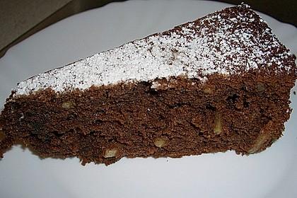 Gâteau au chocolat et aux amandes 1