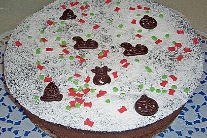 Gâteau au chocolat et aux amandes 3