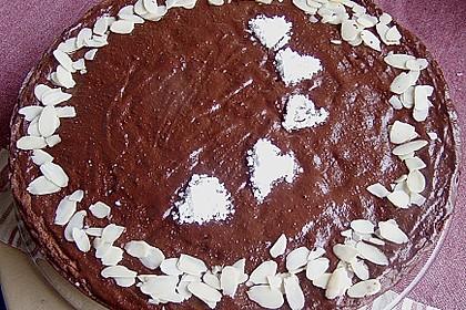 Gâteau au chocolat et aux amandes 2