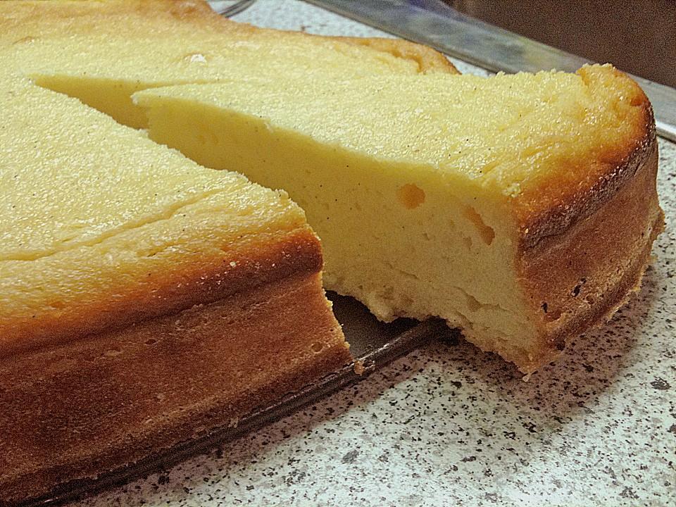 Einfacher Quarkkuchen Ohne Boden Von Estrellaks Chefkoch De