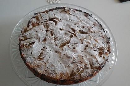 Rhabarberkuchen überkopf 6