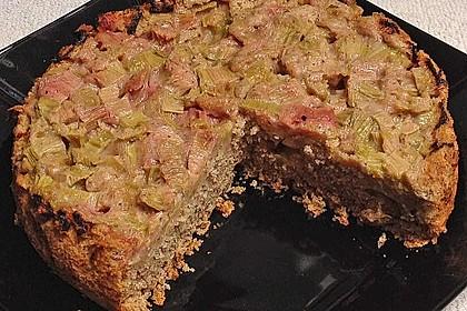 Rhabarberkuchen überkopf 11