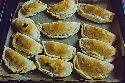 Empanadas (Teigtaschen mit Hackfleischfüllung) 7